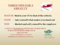 CV Tips - Woolcock 1